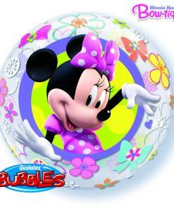 """22"""" Disney Minnie Mouse Bow-Tique Single Bubble"""