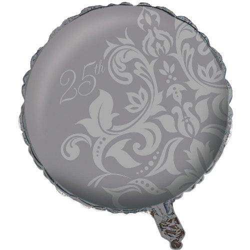 """18"""" Silver Anniversary Foil"""