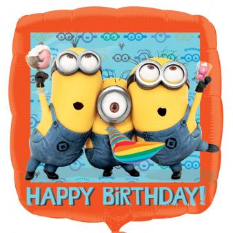 "18"" Despicable Me Minions Happy Birthday Foil"