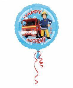 "17"" Fireman Sam Happy Birthday Foil"