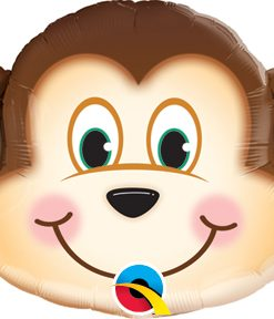 "14"" Air-fill Shape Mischievous Monkey Foil"