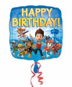 "18"" Paw Patrol Happy Birthday Foil Balloon"