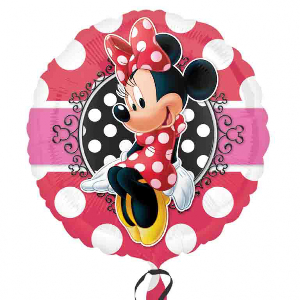 "18"" Minnie Mouse Portrait Foil"