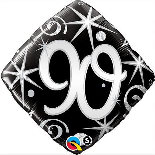 "18"" 90 Elegant Sparkles & Swirls Foil"