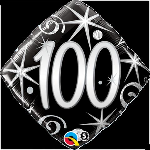 "18"" 100 Elegant Sparkles & Swirls Foil"
