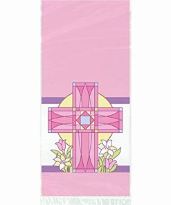 Pink Sacred Cross Cello Bags