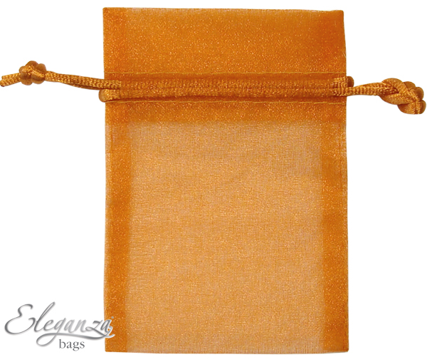Eleganza Favour Bags - Copper