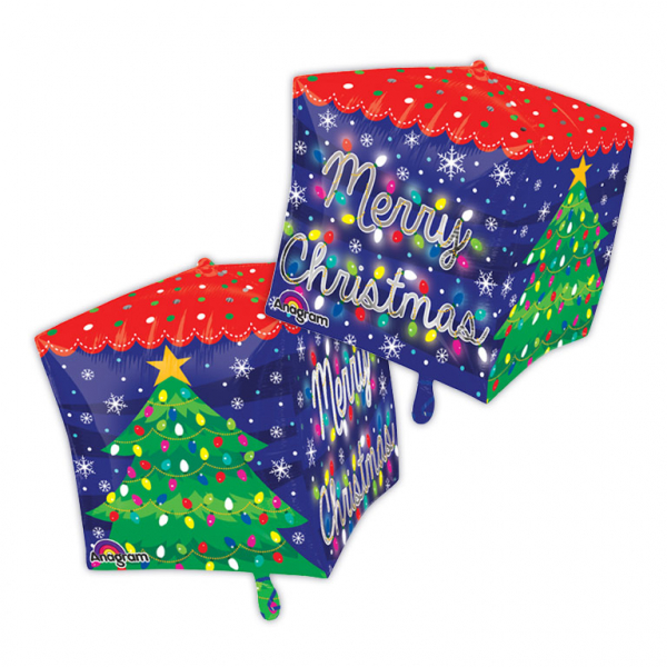 Merry Christmas Lights Cubez