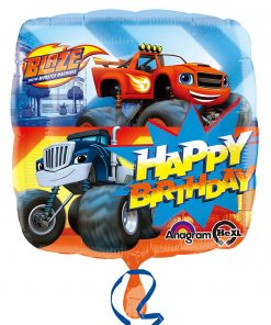 "17"" Blaze Happy Birthday Foil"