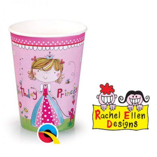 Rachel Ellen Princess Paper Cups