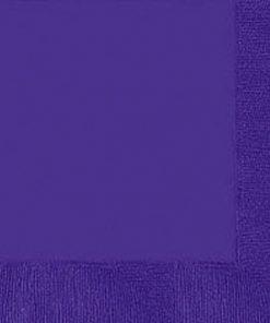 Purple Dinner Napkins