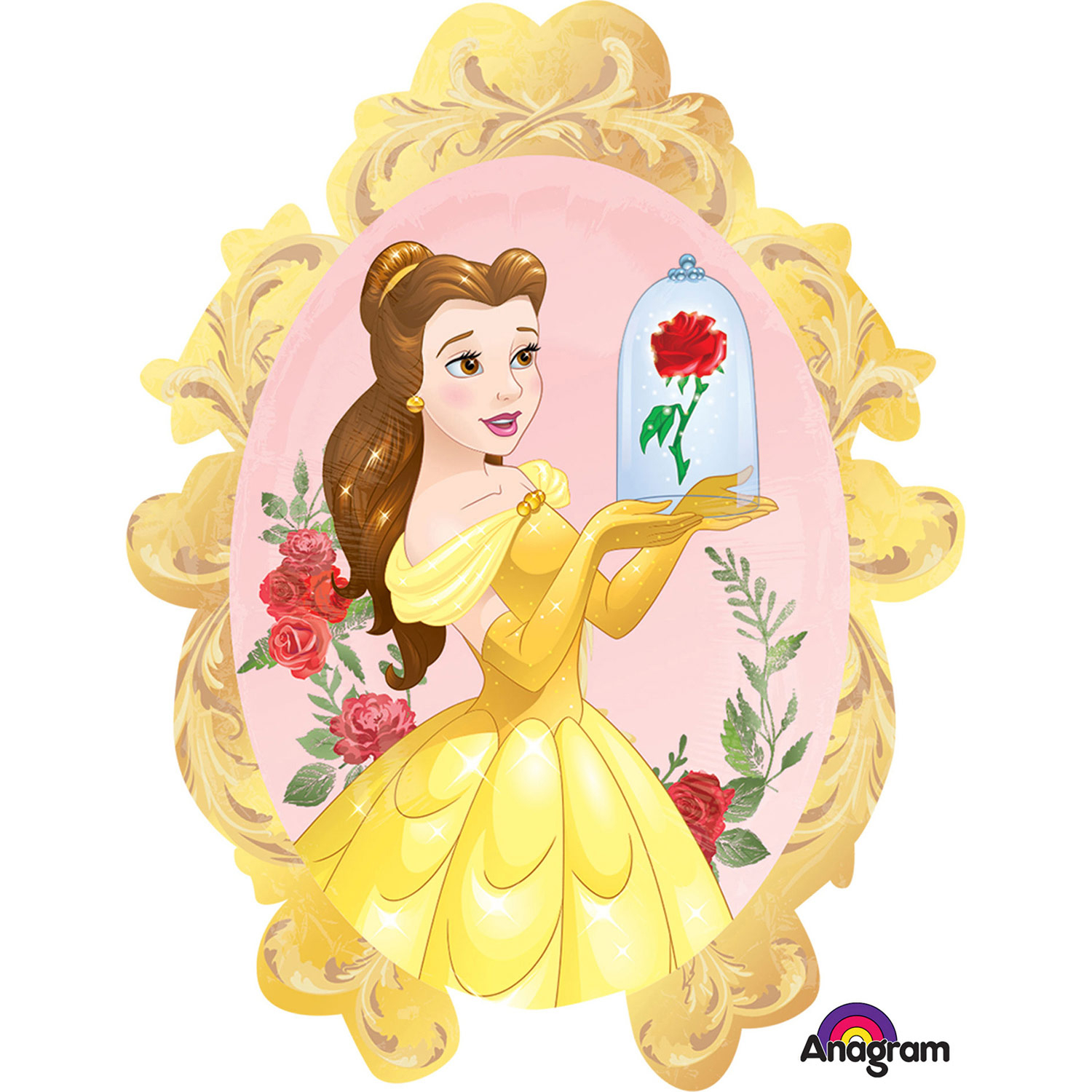 SuperShape Beauty & The Beast Foil