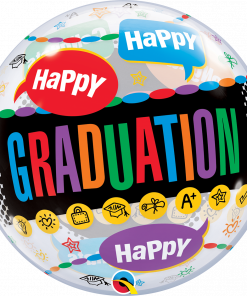 "22"" Happy Graduation Congrats Grad Single Bubble"