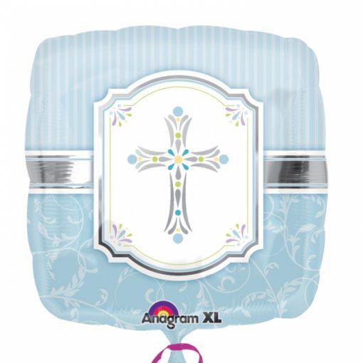 """18"""" Blessings Blue Foil"""