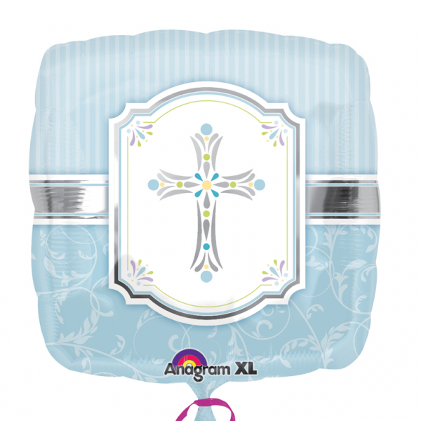 "18"" Blessings Blue Foil"