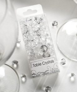Table Crystals Clear