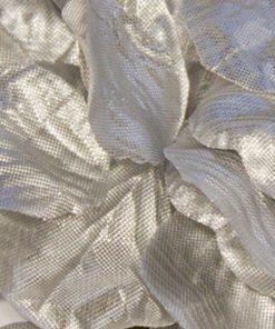 Eleganza Rose Petals Metallic Silver