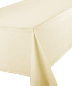 Hire - Ivory Oblong Linen Tablecloth