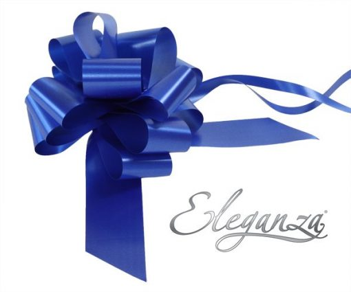 Eleganza 50mm Royal Blue Poly Pull Bow