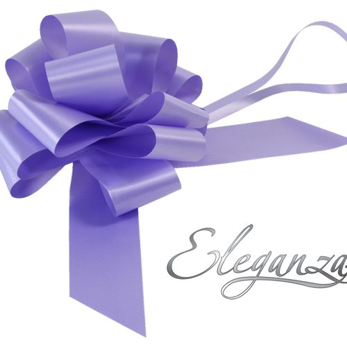 Eleganza 50mm Lavender Poly Pull Bow