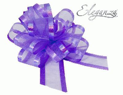 50mm Lavender Organza Pull Bow