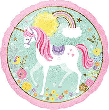 "18"" Magical Unicorn Holographic Foil"