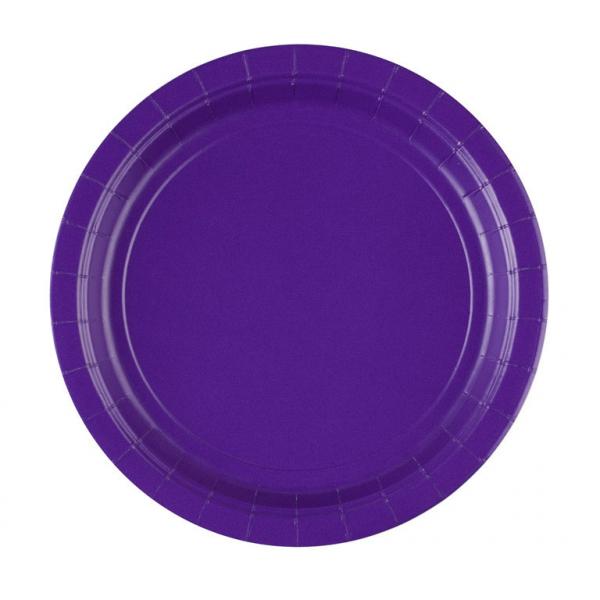 Paper Purple Plates