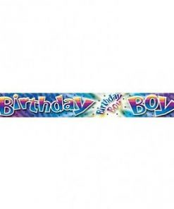 Happy Birthday Boy Banner