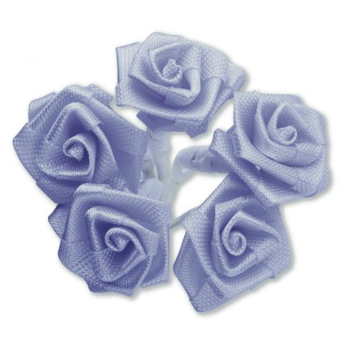 Medium Ribbon Rose Lilac