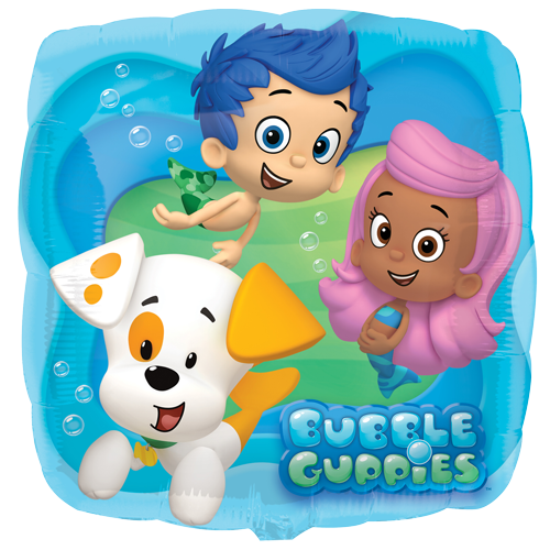 "17"" Bubble Guppies Foil"