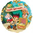 "17"" Jake and the Neverland Pirates Happy Birthday Foil"