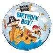 """18"""" Ahoy Birthday Boy Foil"""