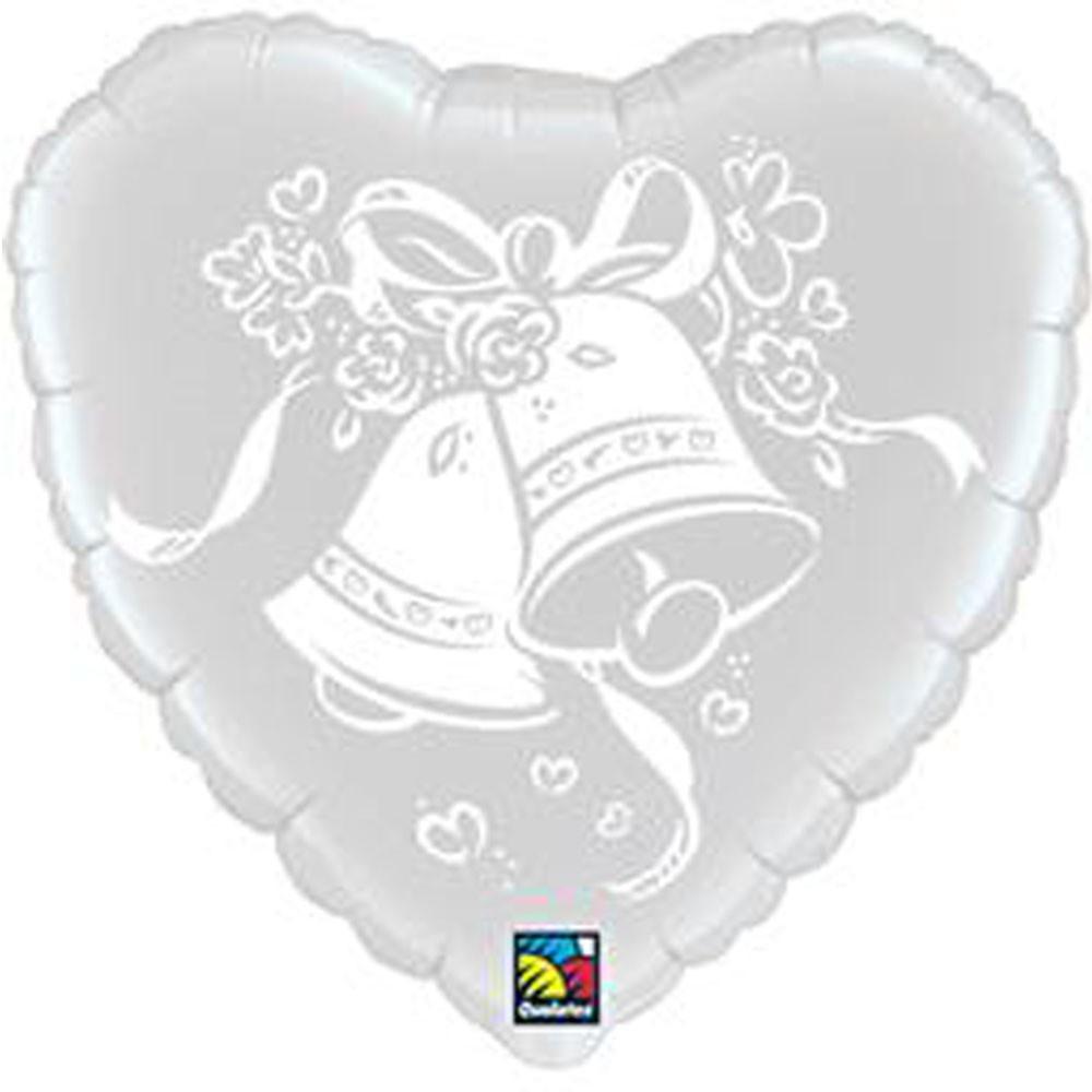 Wedding Bells Heart Foil
