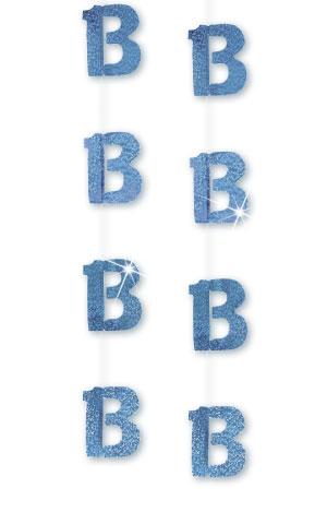 Blue Age '13' Prism Hanging Decoration