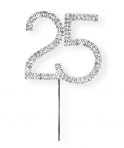 Diamanté 25 on Silver Stem