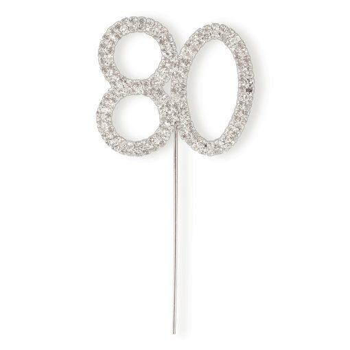 Diamanté 80 on Silver Stem