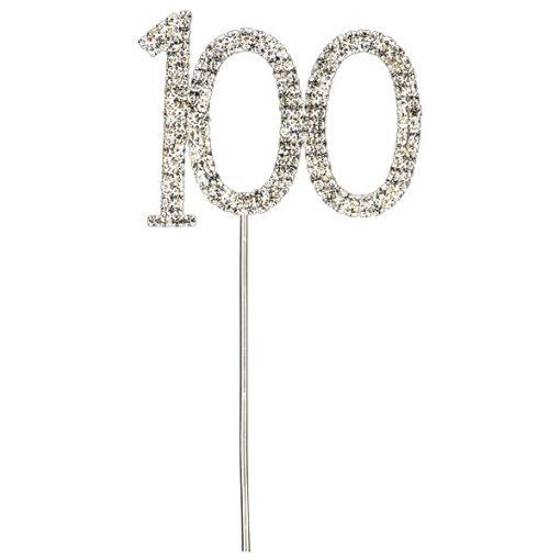 Diamanté 100 on Silver Stem