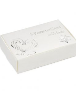 A Piece of Cake Box - White/Silver