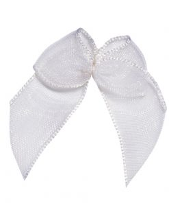 Self Adhesive White Bows