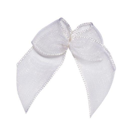 Self Adhesive White Bows