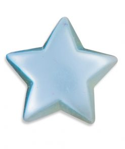 Self Adhesive Blue Pearl Stars