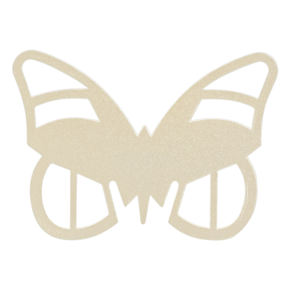 Paper Butterfly Place Cards - Ivory
