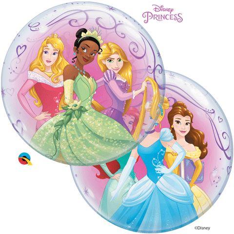 "22"" Disney Princess Single Bubble"