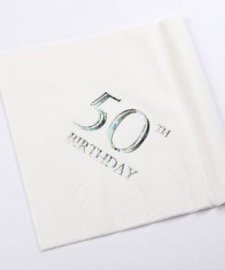 50th Birthday Luncheon Napkins