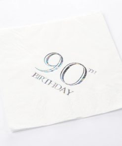90th Birthday Luncheon Napkins