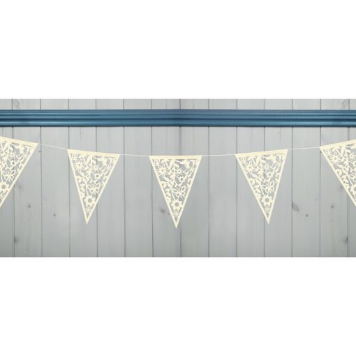 Lace Bunting Ivory