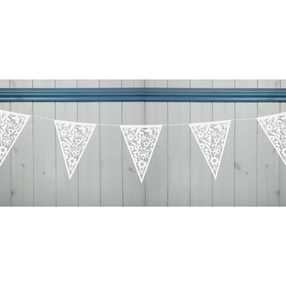 Lace Bunting White