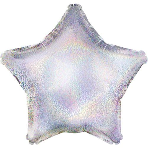 Holographic Silver Star