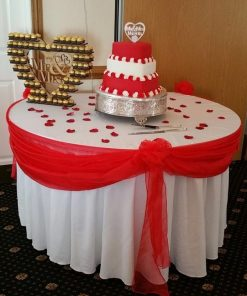 Cake Table Swagging