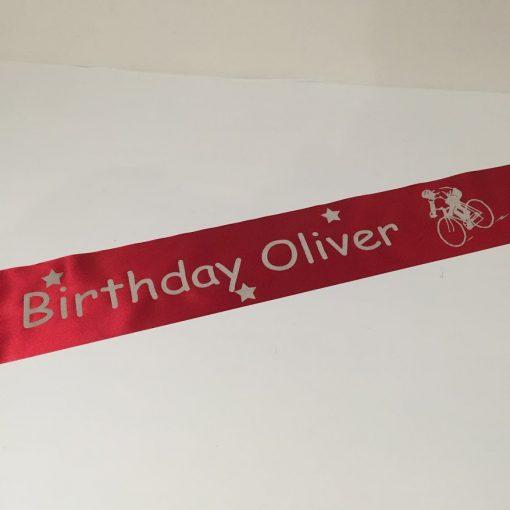 Personalised Banner